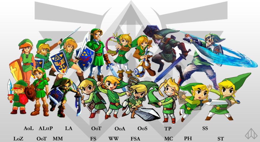 BlurryPhoenix's Top 5: Legend of Zelda Games