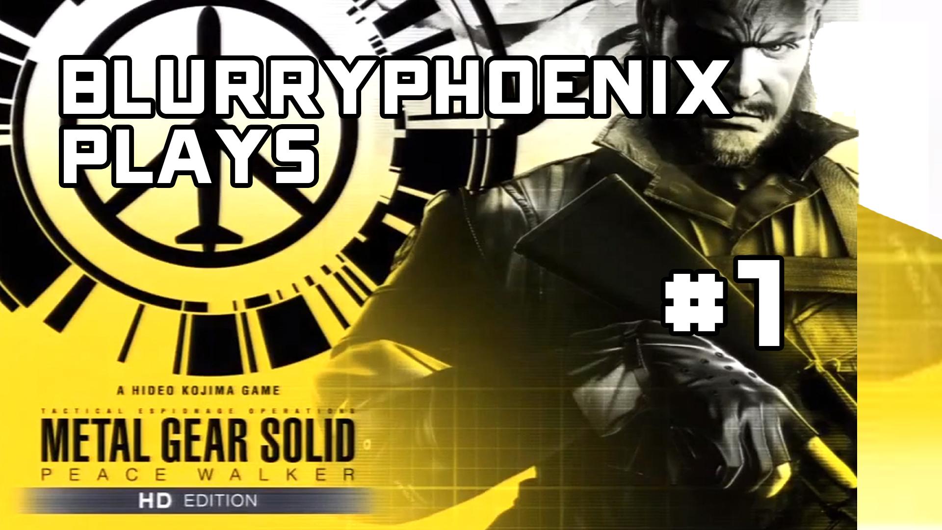 BlurryPhoenix Streams: Metal Gear Solid – Peace Walker (Pt. 1)