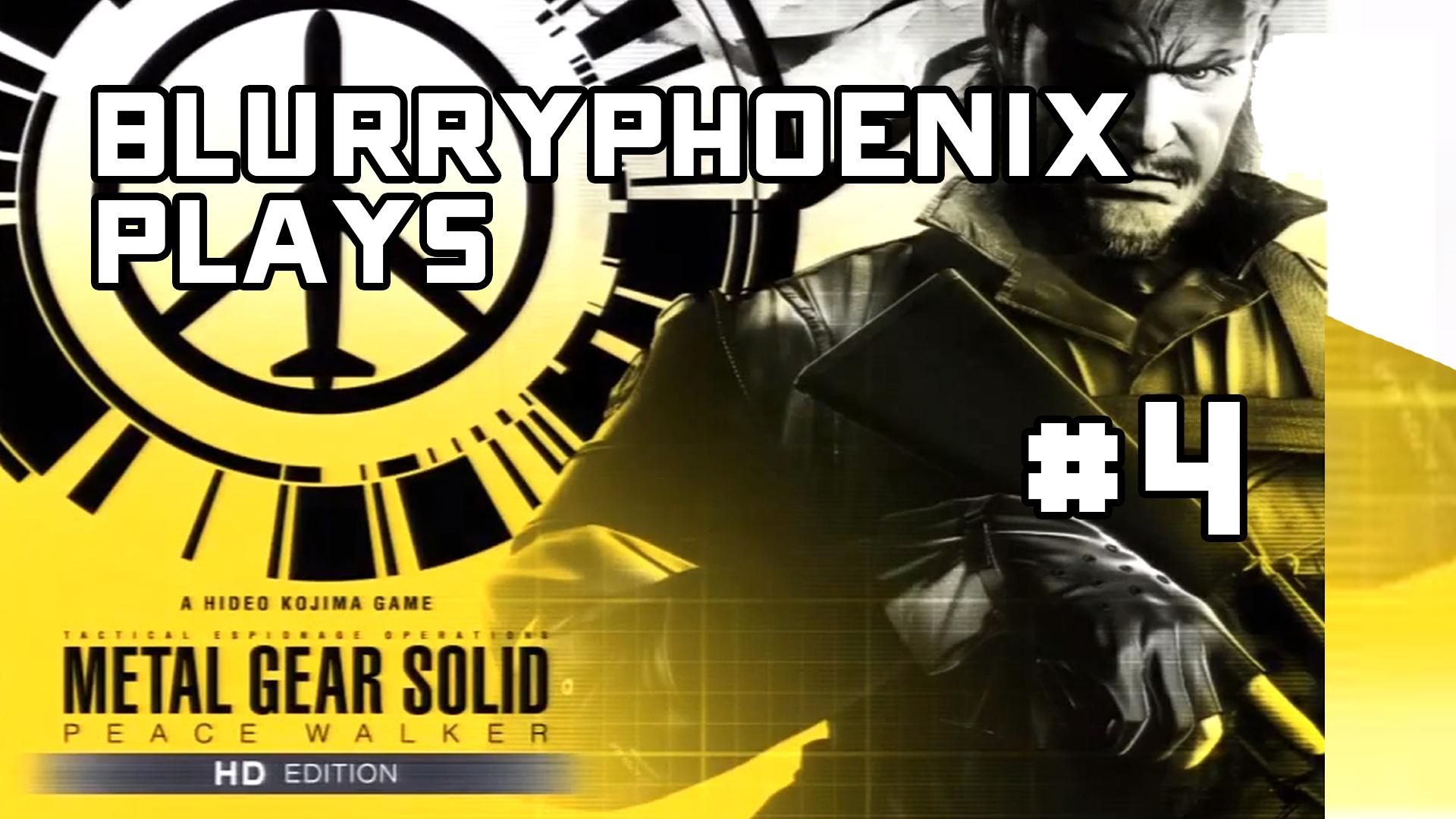 BlurryPhoenix Streams: Metal Gear Solid – Peace Walker (Pt. 4)