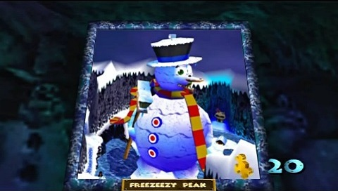 Weekly Video Game Track: Freezeezy Peak