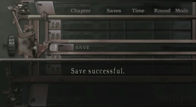 Weekly Video Game Track: Resident Evil 4 Save Theme