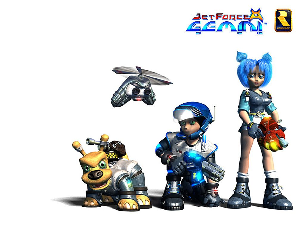 Weekly Video Game Track: Jet Force Gemini Character Select