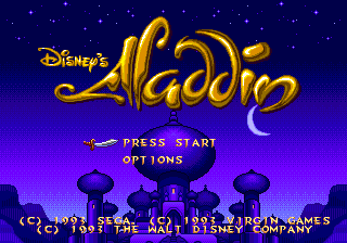 Weekly Video Game Track: Aladdin Ending Credits