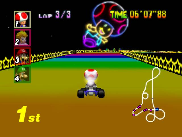 Weekly Video Game Track: Rainbow Road