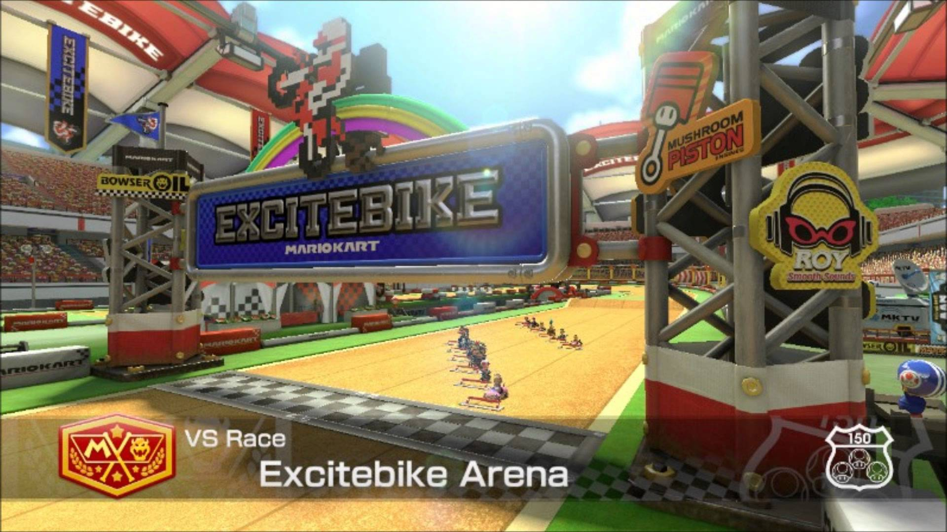 Weekly Video Game Track: Excitebike Arena