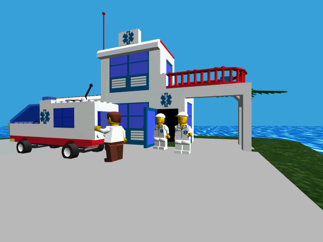 Weekly Video Game Track: Lego Island Hospital
