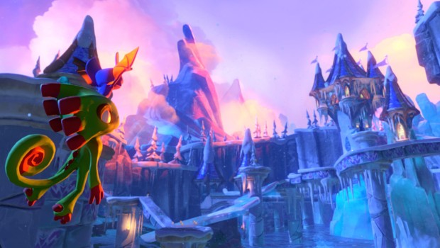 Weekly Video Game Track: Glitterglaze Glacier Theme
