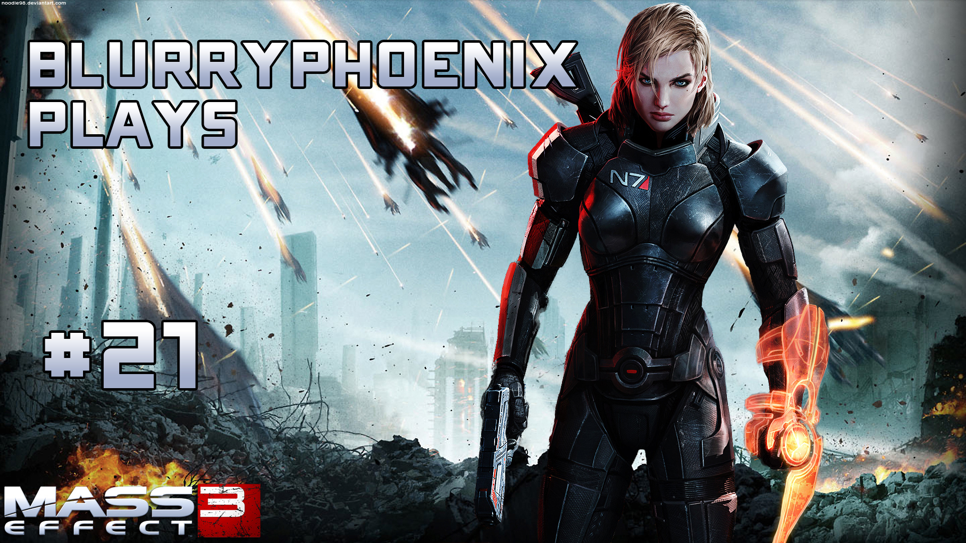 BlurryPhoenix Streams: Mass Effect 3 (Pt. 21)