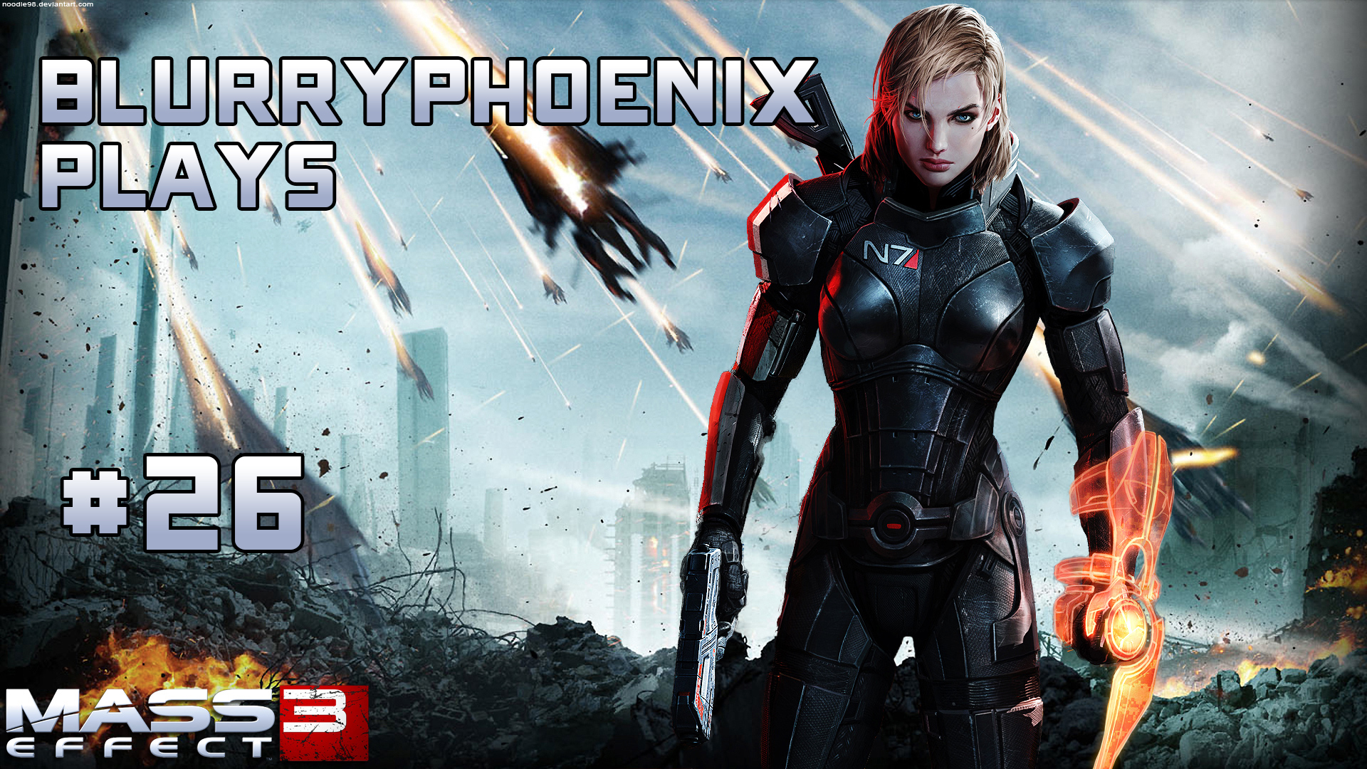 BlurryPhoenix Streams: Mass Effect 3 (Pt. 26)
