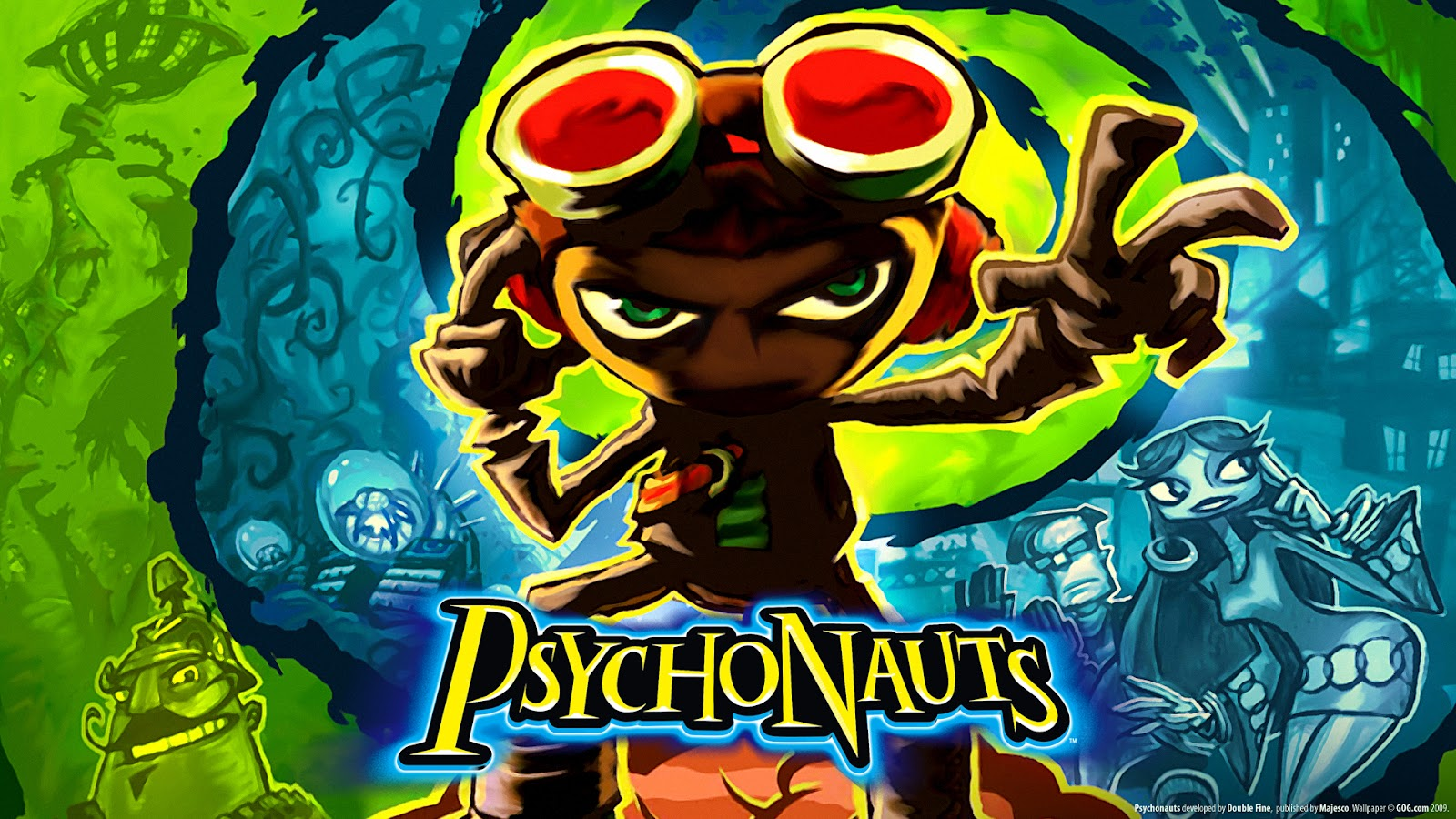 BlurryPhoenix Reflects: Psychonauts