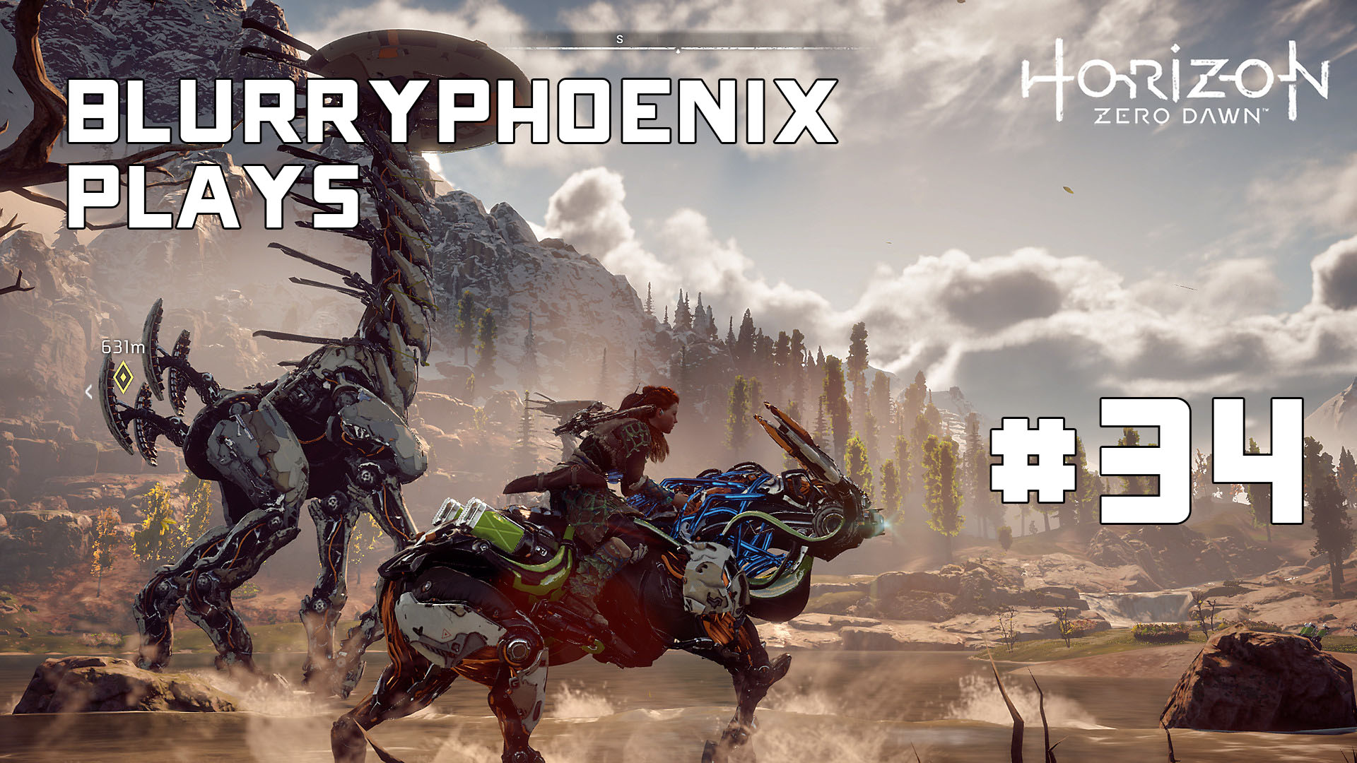 BlurryPhoenix Streams: Horizon Zero Dawn (Pt. 34)