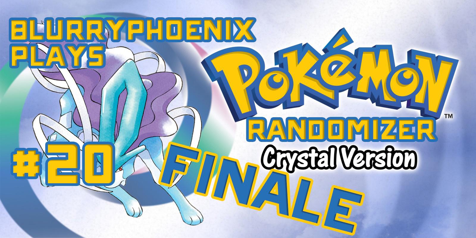 BlurryPhoenix Streams: Pokemon Crystal Randomizer (Pt. 20)