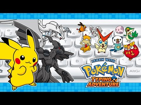 Weekly Video Game Track: Learn with Pokemon Typing Adventure – Boss Battle