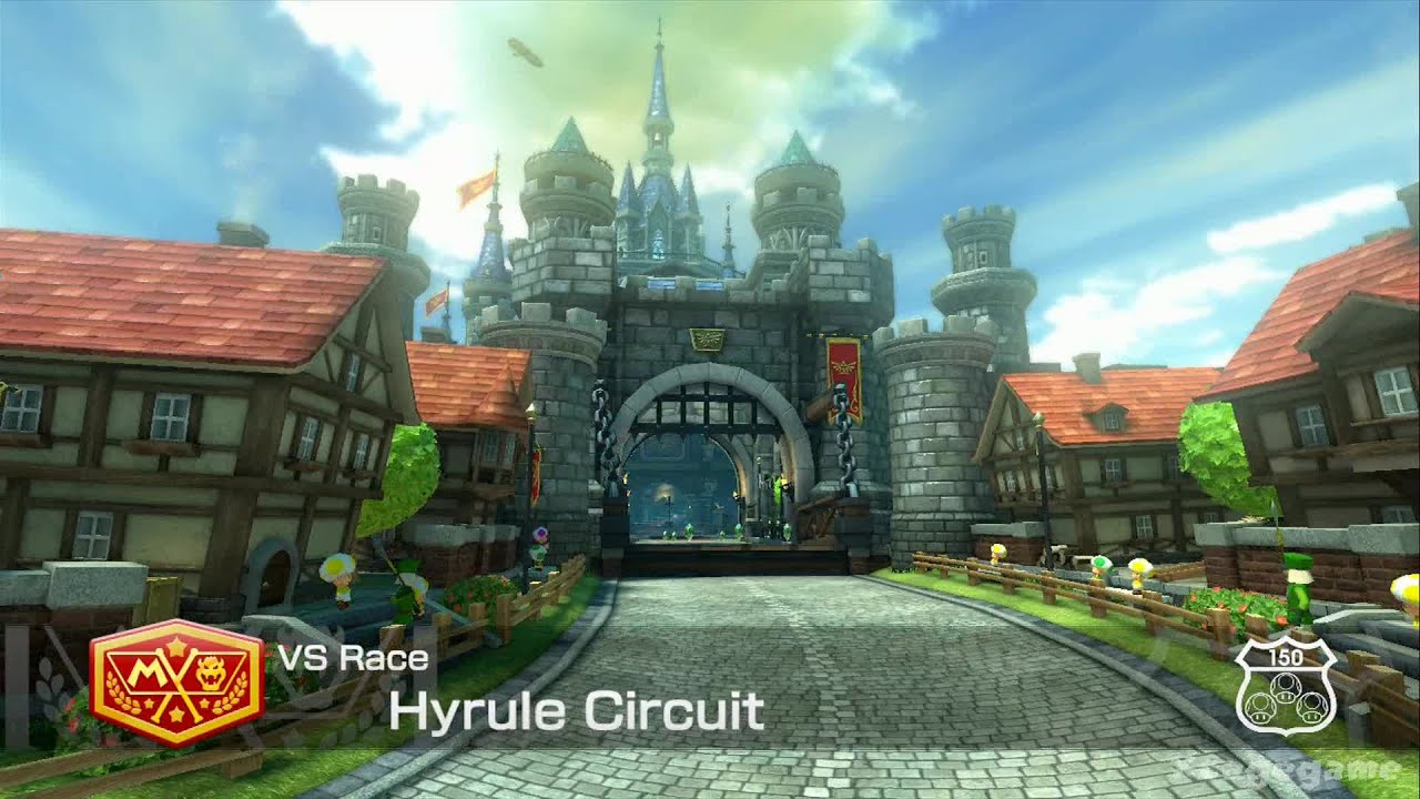 Weekly Video Game Track: Hyrule Circuit