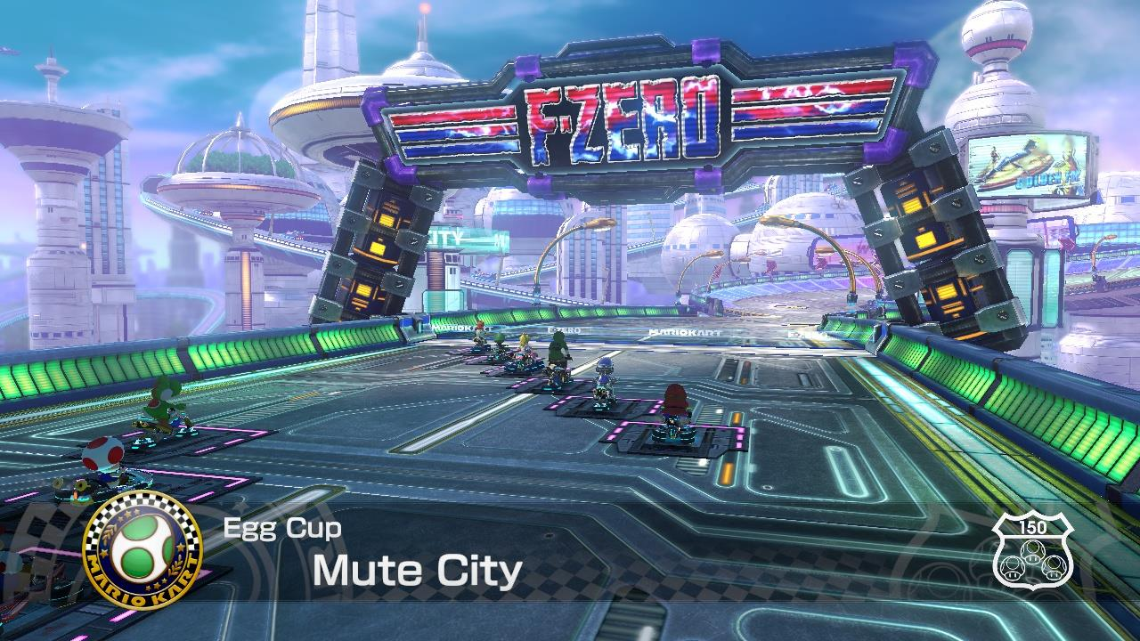 Weekly Video Game Track: Mute City