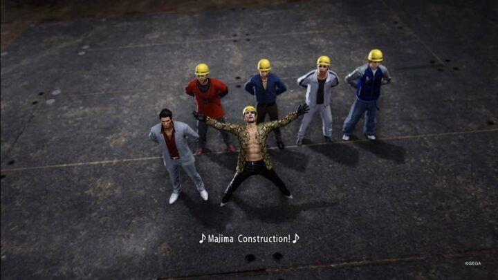 Weekly Video Game Track: Majima Construction Anthem