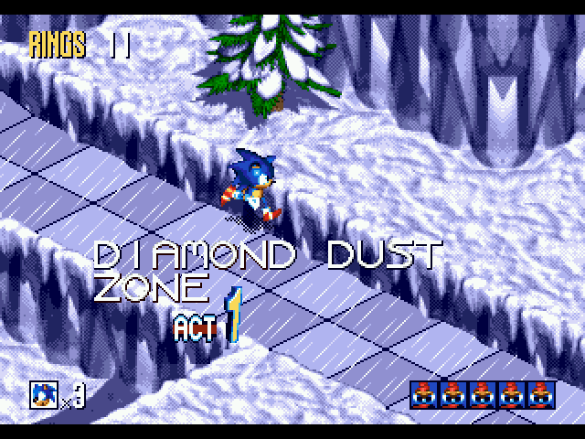 Weekly Video Game Track: Diamond Dust Zone Act 1