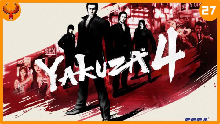 BlurryPhoenix Streams: Yakuza 4 (pt. 27)