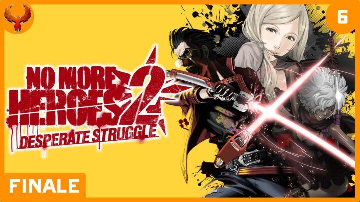 BlurryPhoenix Streams: No More Heroes 2 – Desperate Struggle (pt. 6)